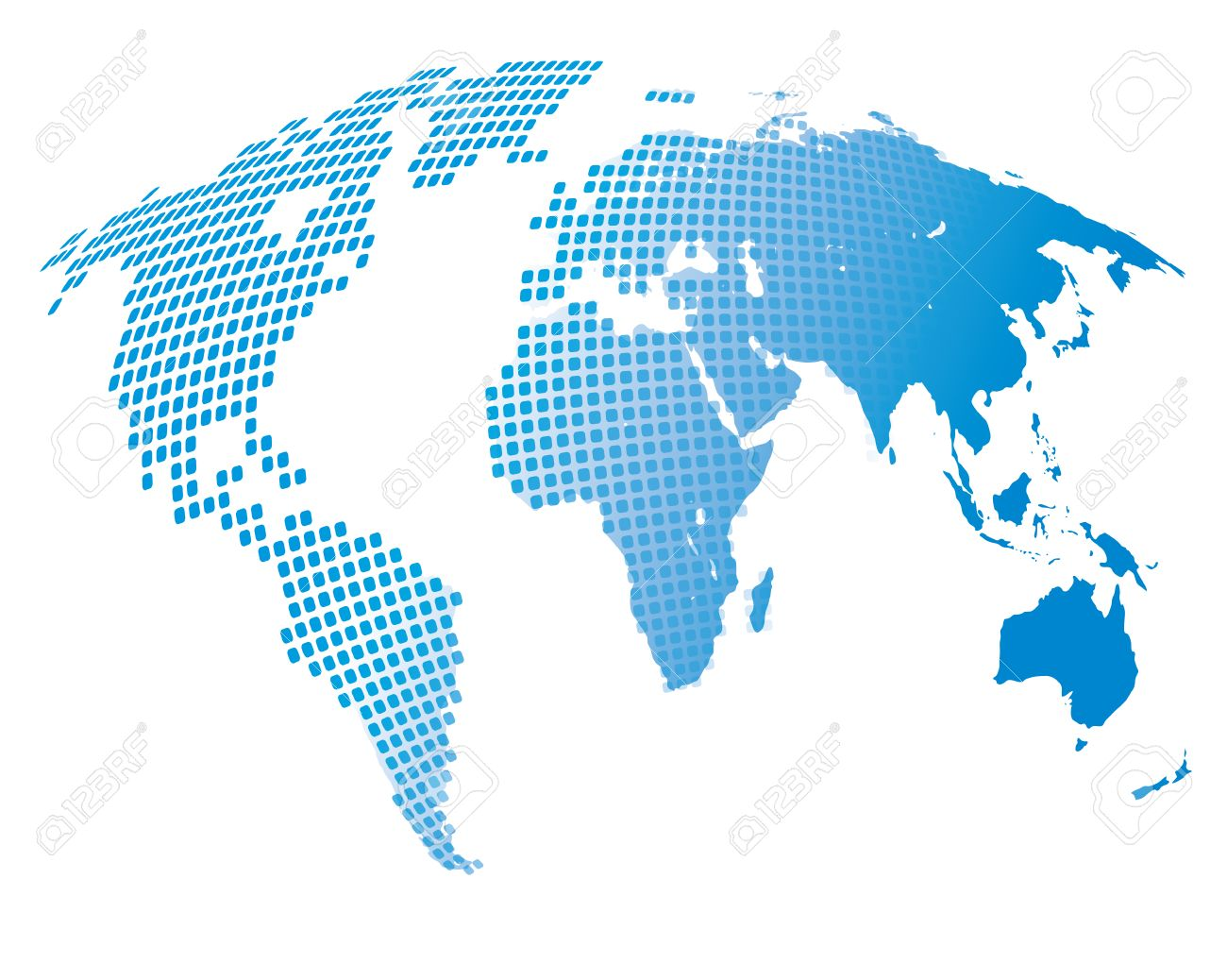 Stylized image of the world map vector illustration stock photo illustration stylized image of the world map vector illustration gumiabroncs Choice Image