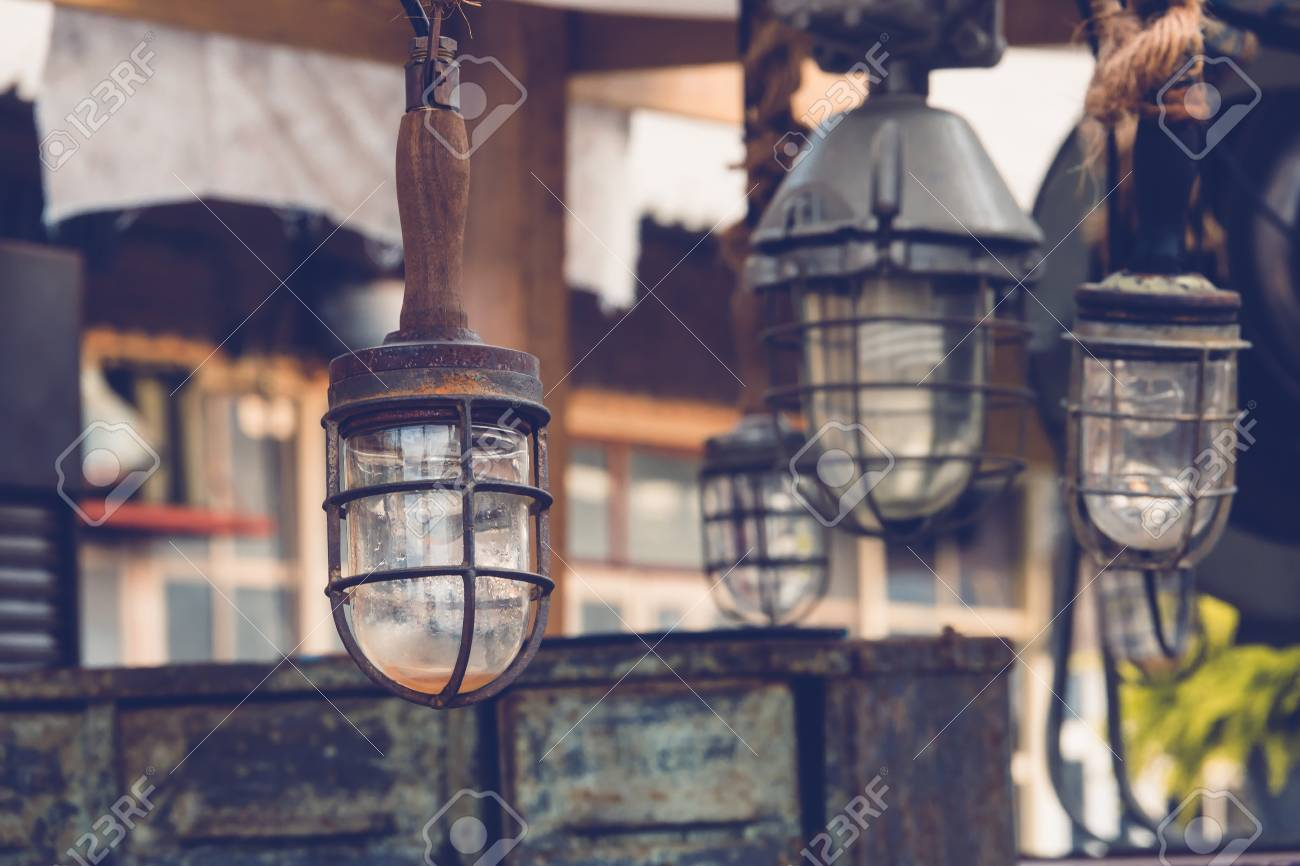 Decoration Vintage Lantern Of Ship Diy Home And Decorate Stock Photo Picture And Royalty Free Image Image 68074142