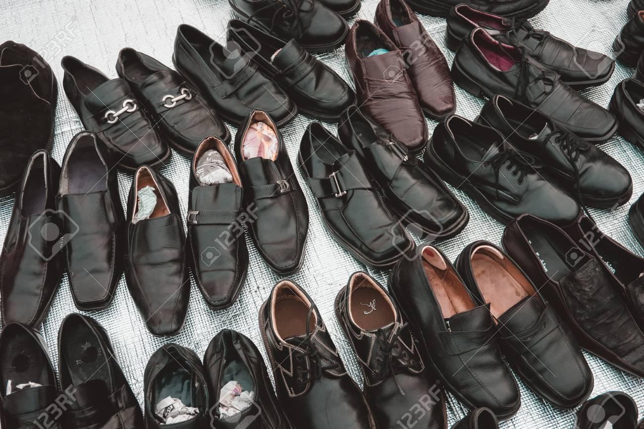 Colección Hombres Mano Cuero Muchos De Segunda Zapatos Para 3AjL5R4q