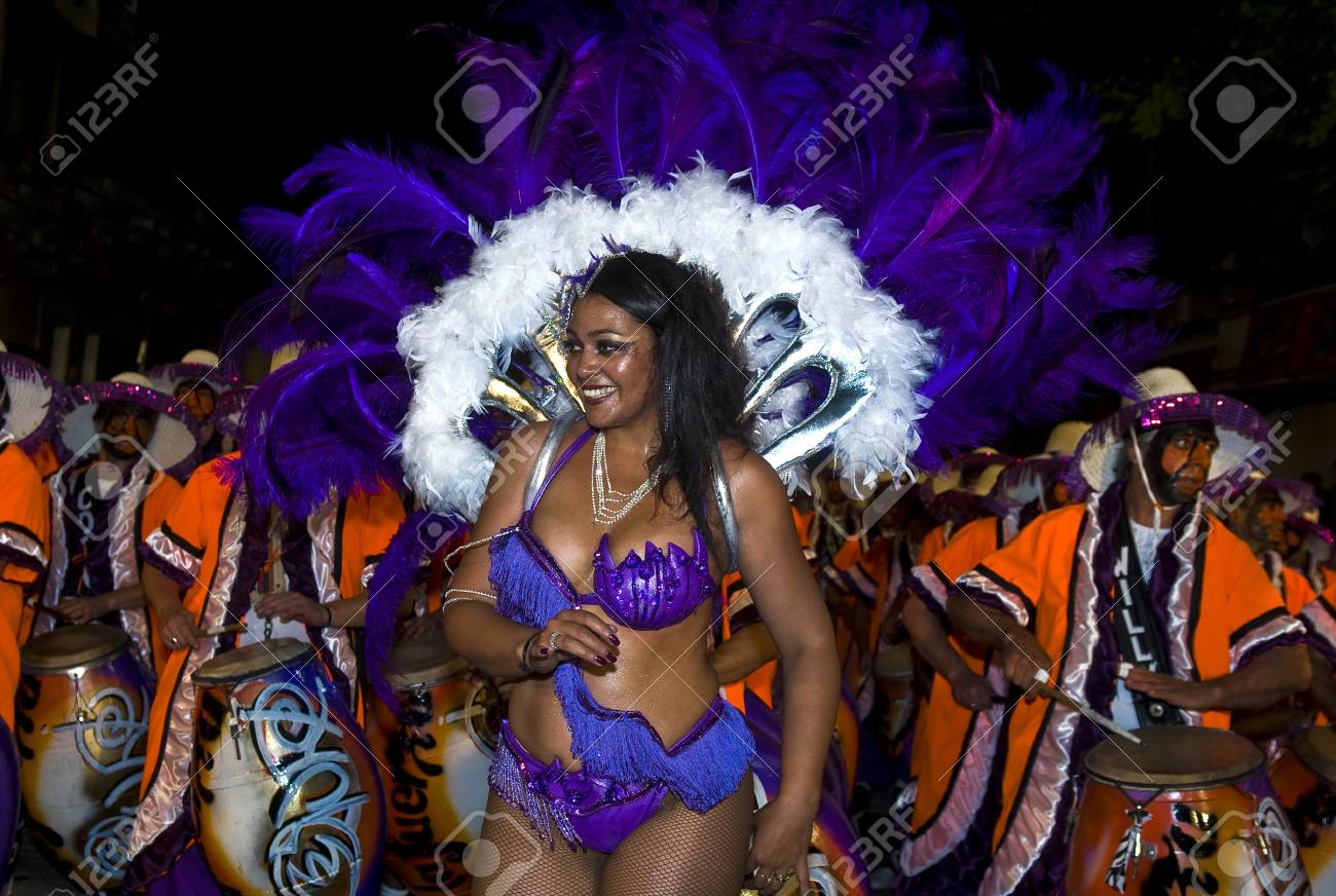 MONTEVIDEO, URUGUAY - FEB 05 2011 :  dancer participant in the annual national festival of Uruguay ,held in Montevideo Uruguay on February 05 2011 Stock Photo - 10636292