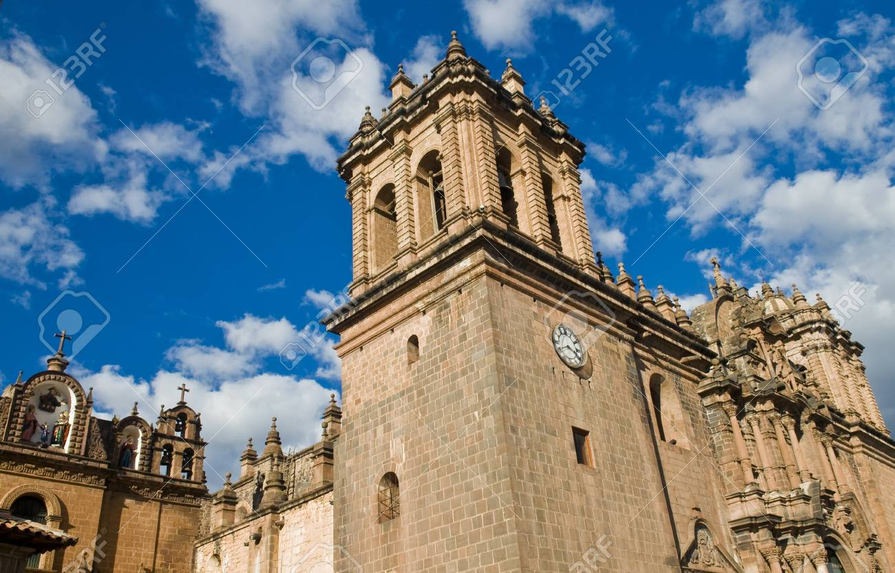 The cathadral in cusco Pero Stock Photo - 11734995