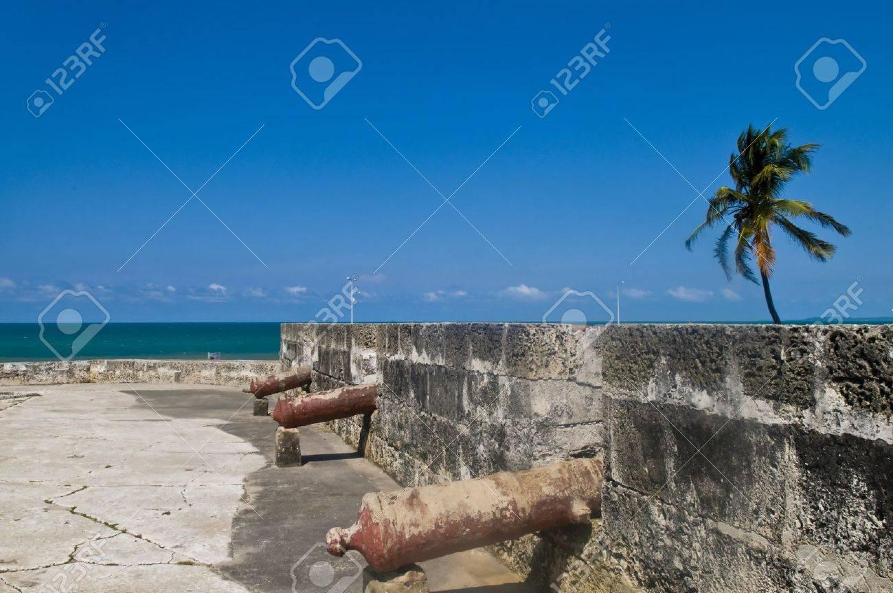 """San Felipe de Barajas casle in """"Cartagena de indias"""" Colombia - 11735096"""