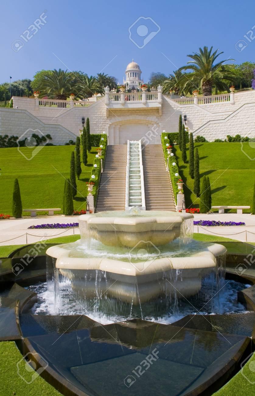The Bahai gardens in Haifa north Israel Stock Photo - 14138100