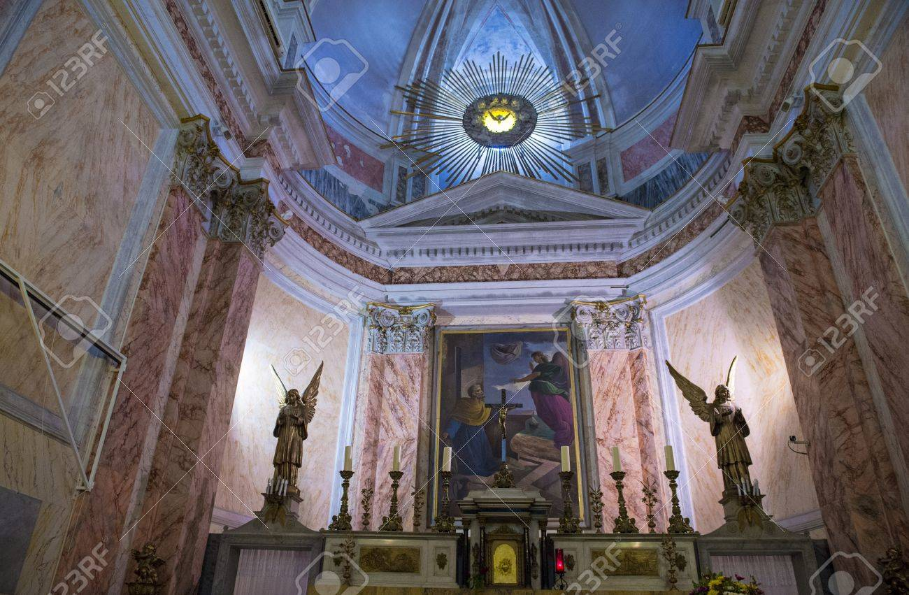 The interior of St. Peter's Church in Jaffa , Israel Stock Photo - 15621217