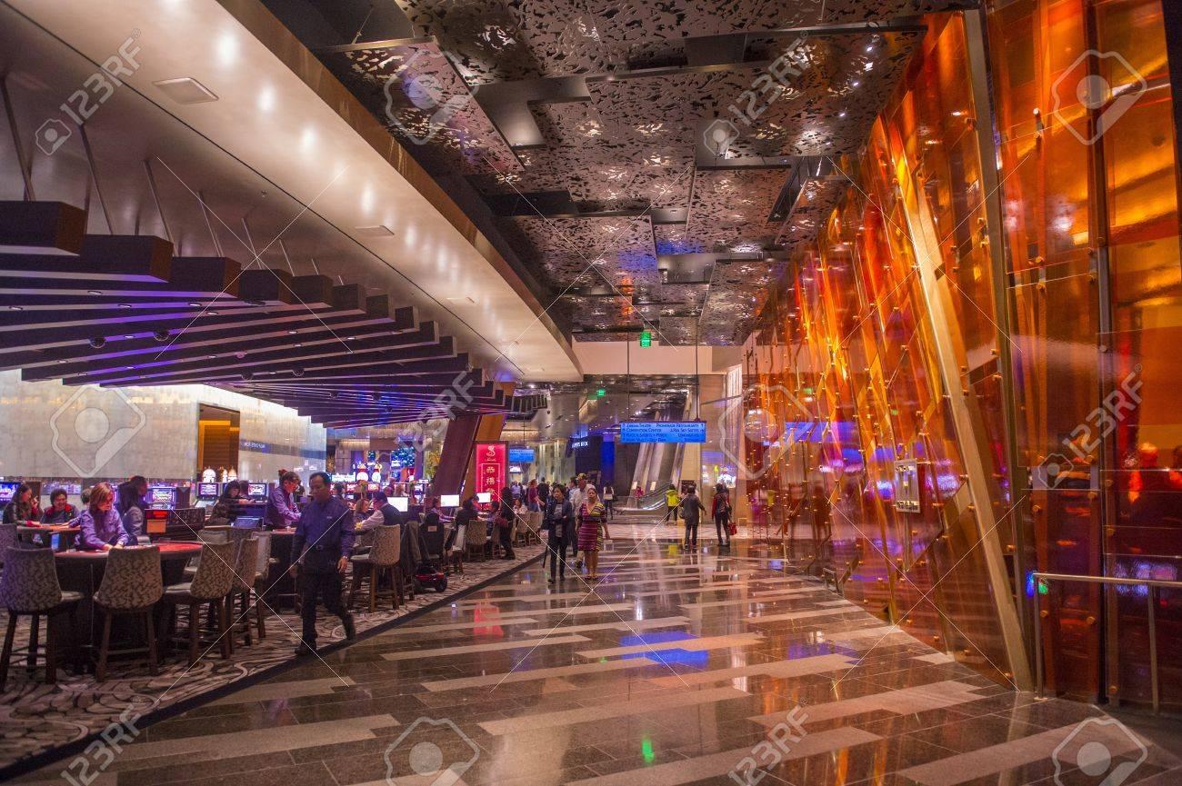 3730 las vegas - Las Vegas Feb 14 The Interior Of Aria Resort And Casino In Las Vegas
