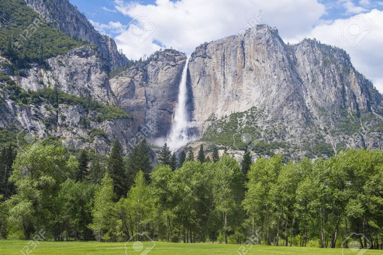 Stock Photo - The Yosemite Valley in Yosemite National Park, California