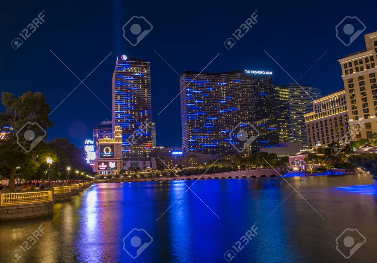 Las Vegas Oct 01 The Cosmopolitan Hotel In Las Vegas On October