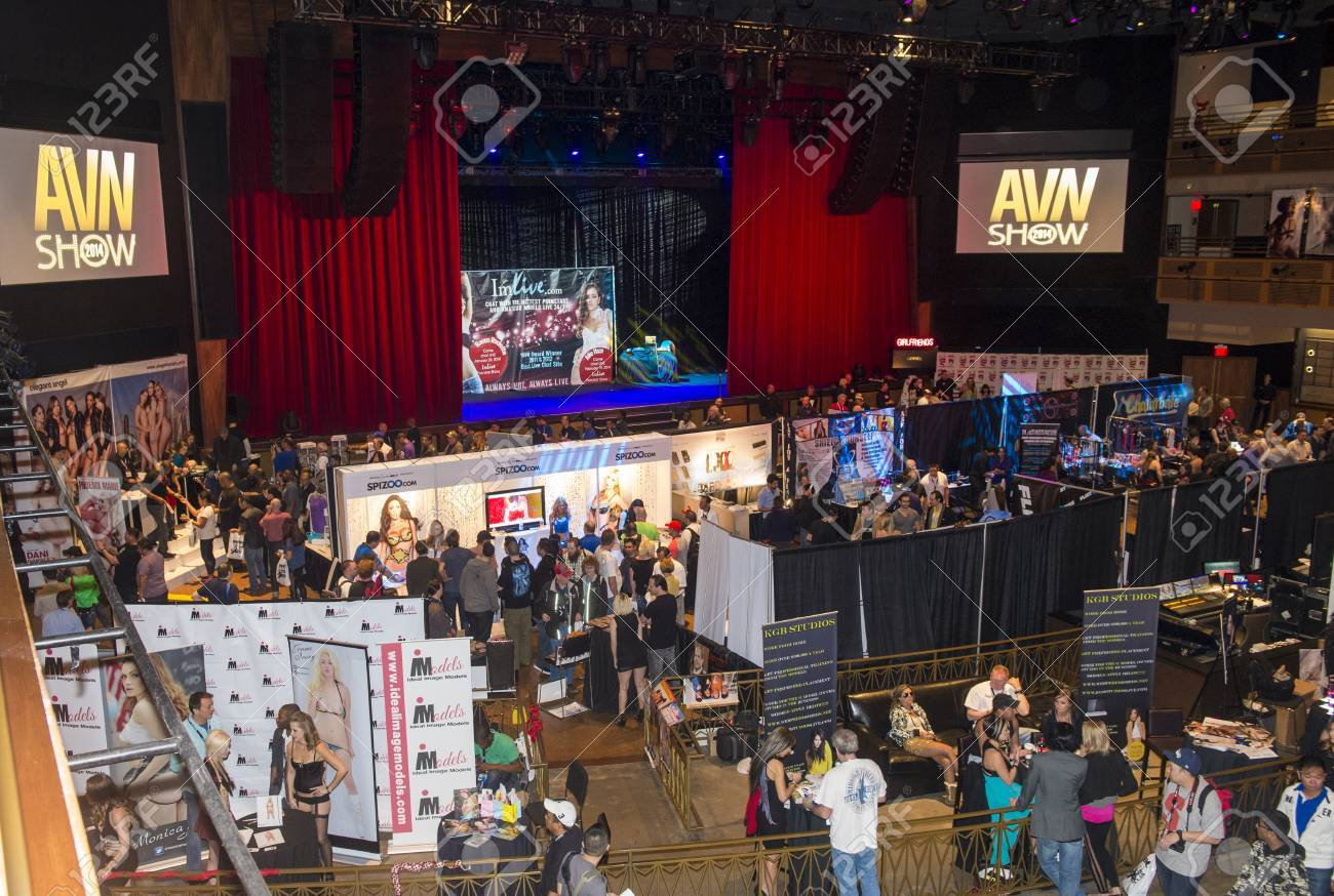 LAS VEGAS - JAN 18 : The AVN Adult Entertainment Expo on January 18 2014 in