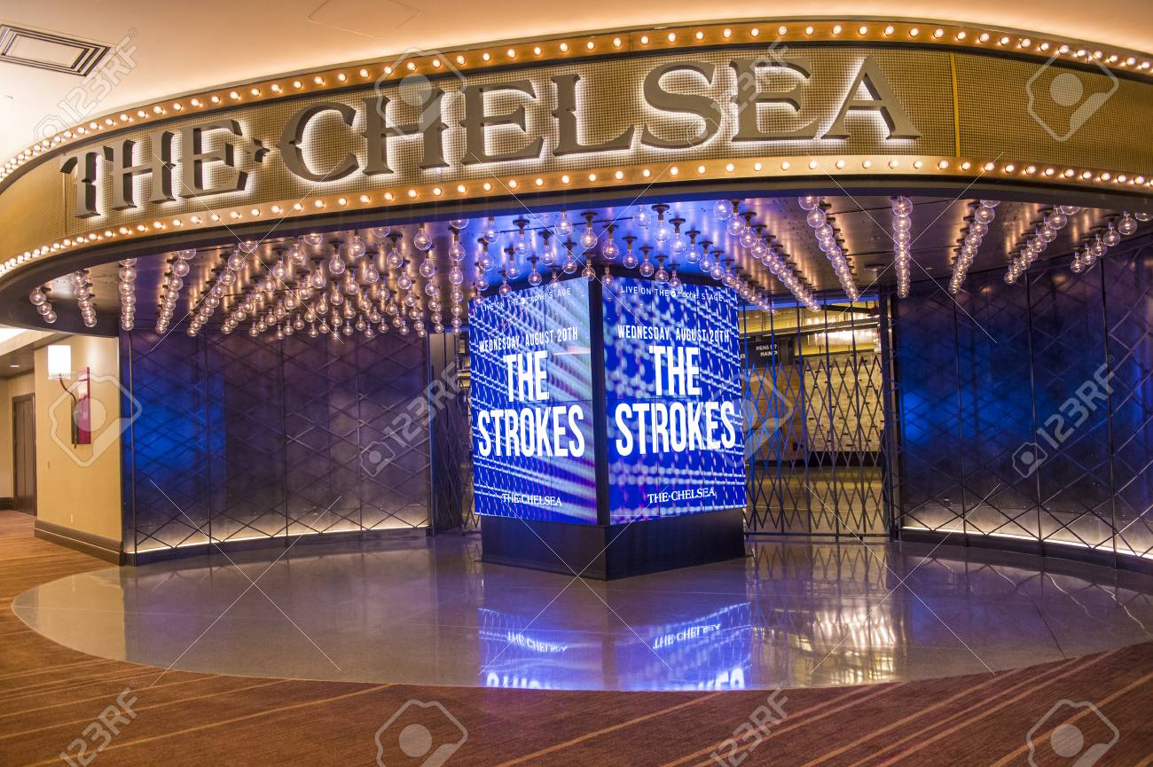 LAS VEGAS - JULY 21 : The Chelsea event venue in Cosmopolitan hotel in Las Vegas on July 21 2014 , The 40,000 square-foot event space opend on December 2013 - 31549686