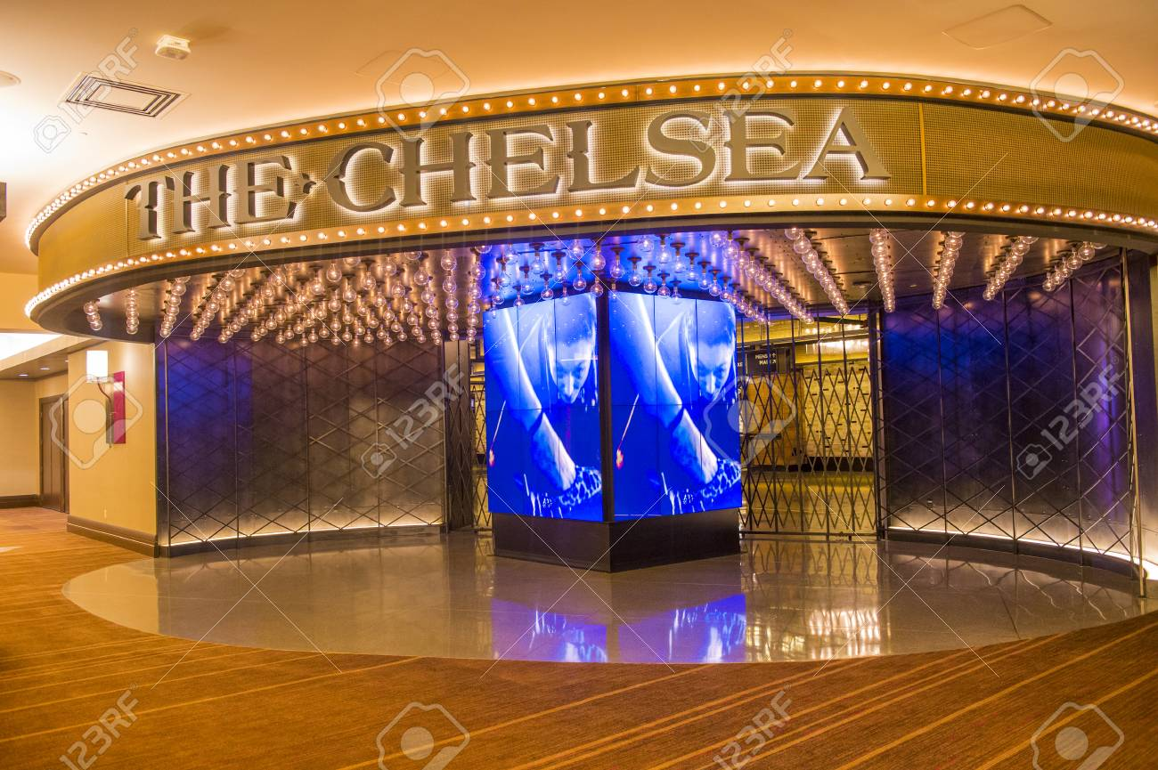 LAS VEGAS - JULY 21 : The Chelsea event venue in Cosmopolitan hotel in Las Vegas on July 21 2014 , The 40,000 square-foot event space opend on December 2013 - 31549687