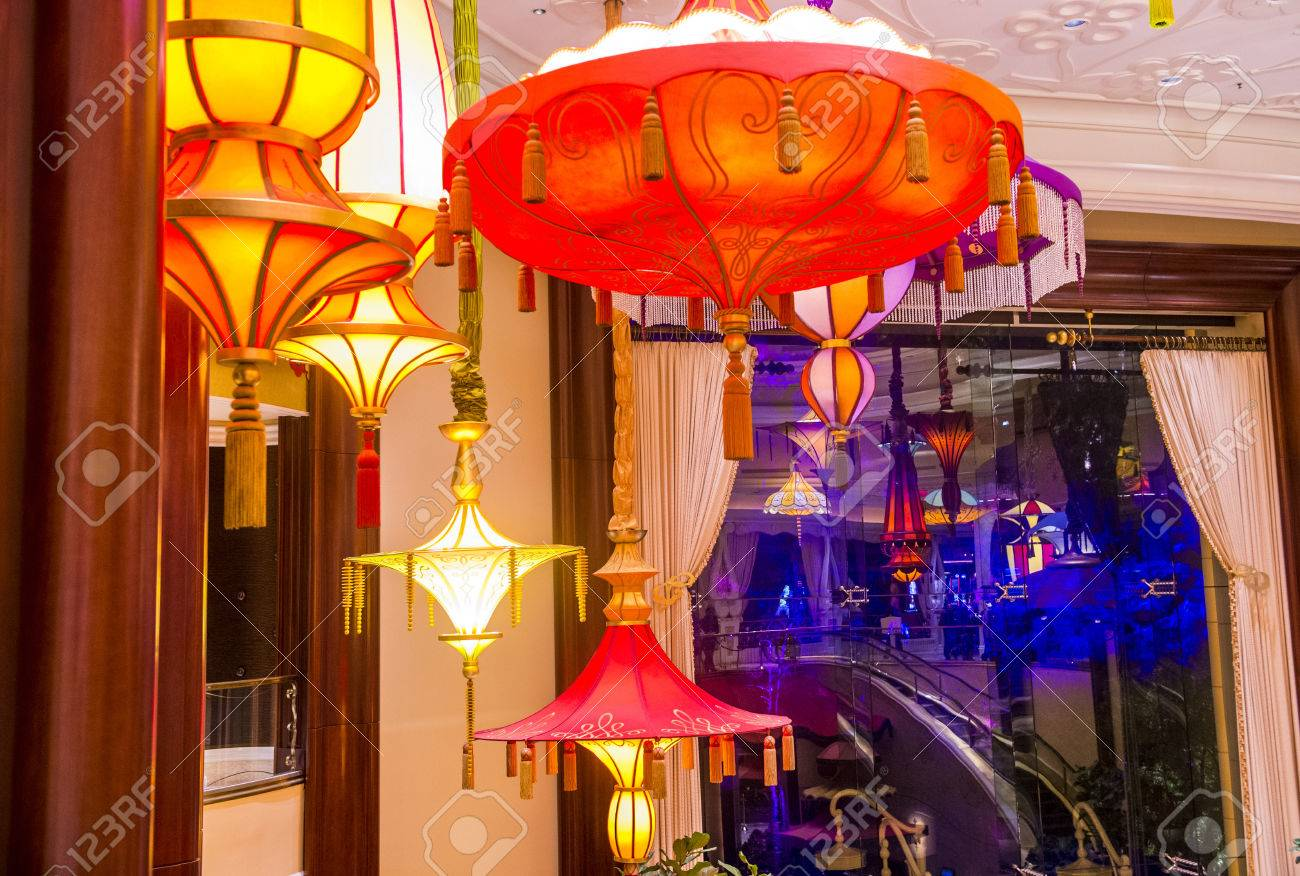 Las Vegas Dec 23 The Parasol Down Bar At The Wynn Hotel And