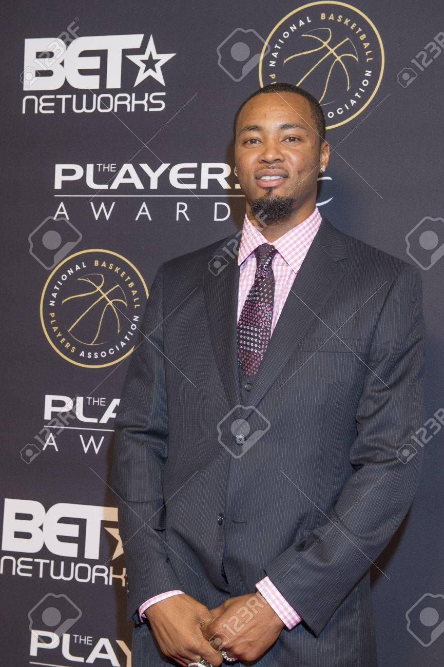 LAS VEGAS JULY 19 NBA Player Rashard Lewis Attends The Players