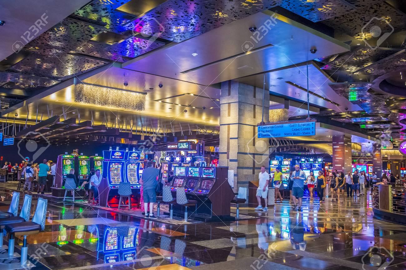 LAS VEGAS - SEP 03 : The Interior Of Aria Resort And Casino In.. Stock  Photo, Picture And Royalty Free Image. Image 45773364.