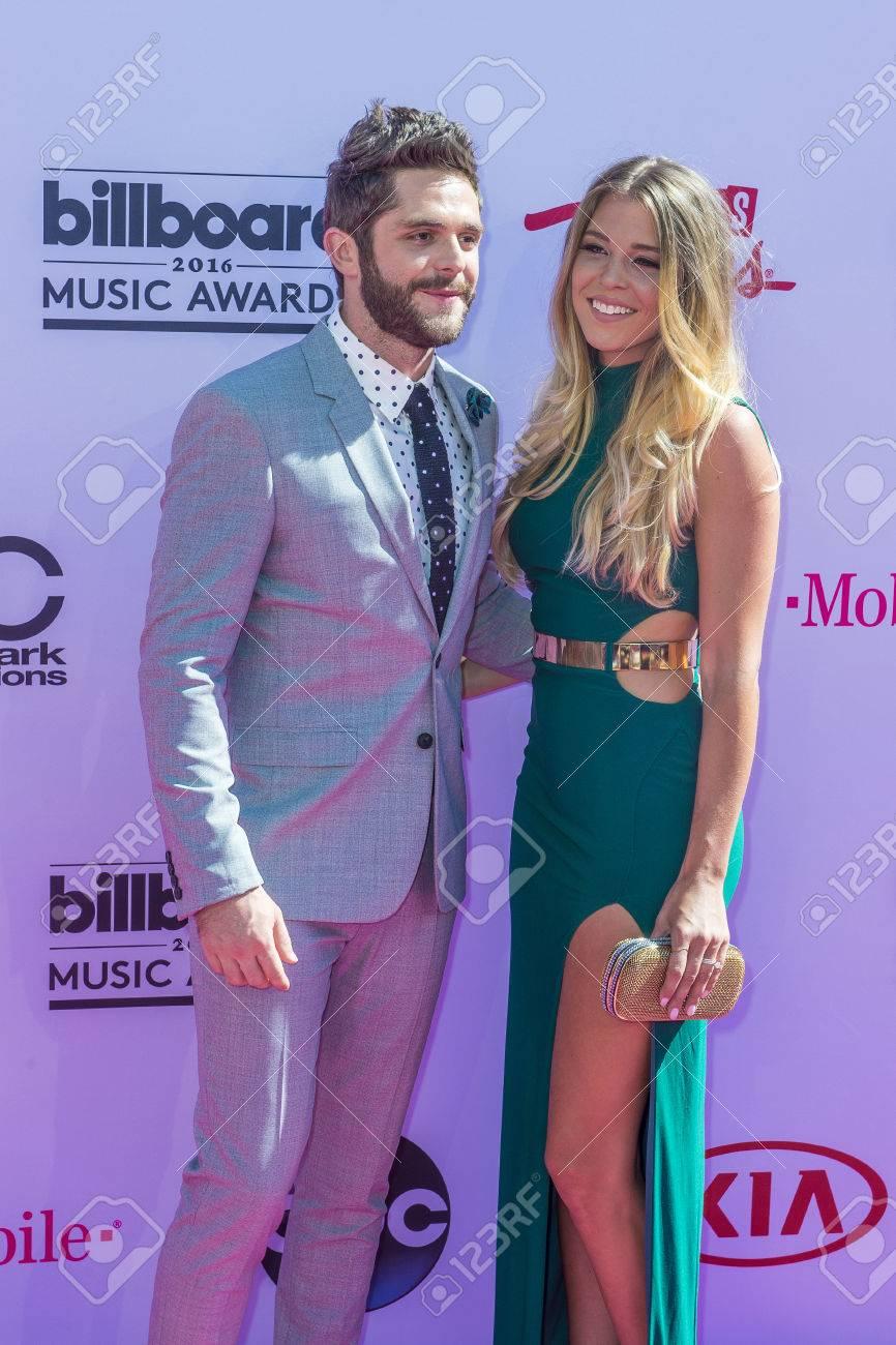 Las Vegas May 22 Singer Thomas Rhett L And Lauren Gregory