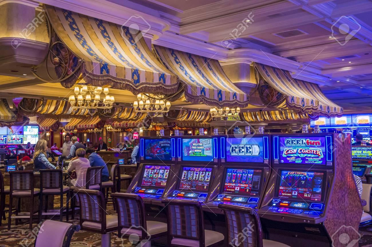 Las Vegas Oct 05 The Interior Of Bellagio Hotel And Casino