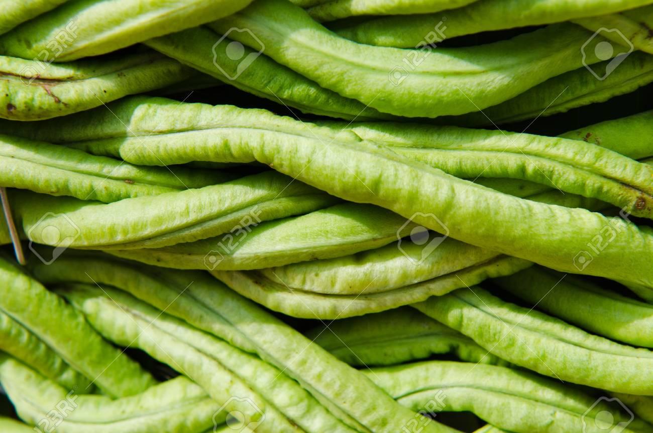 yardlong bean background, Thailand. Stock Photo - 16607900
