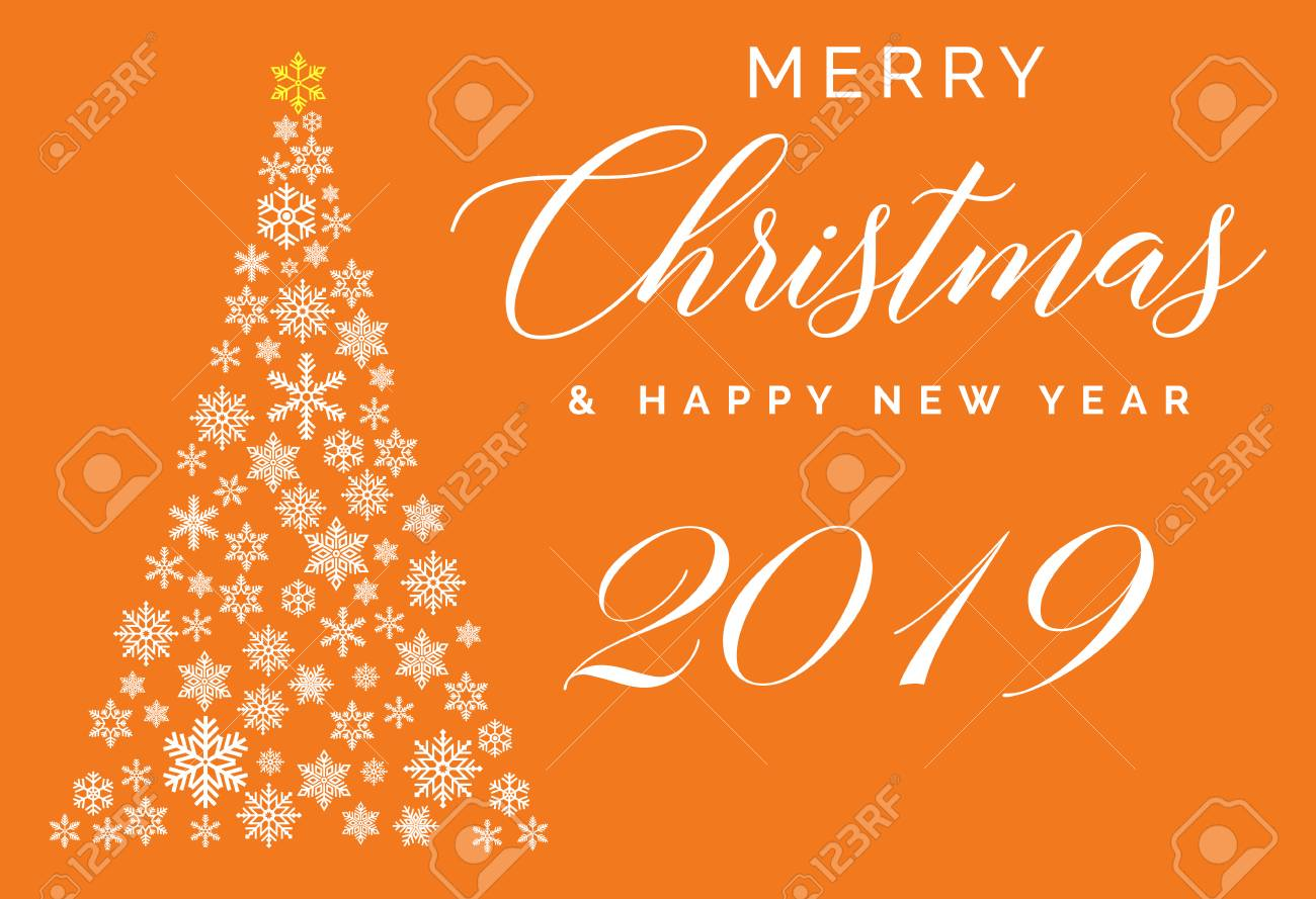 Happy New Year Orange 53
