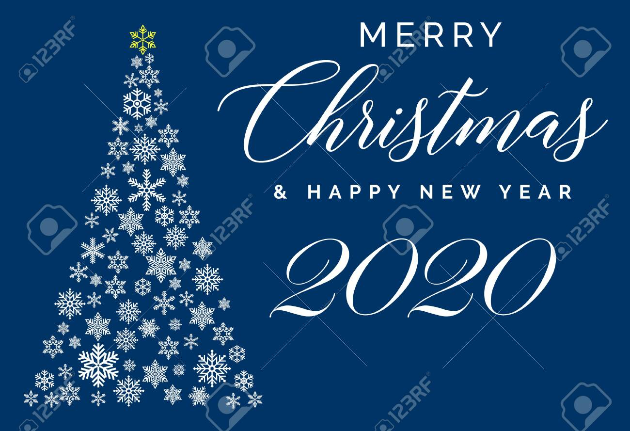 Merry Christmas Images And Happy 2020 Cards Merry Christmas And Happy New Year 2020 Lettering Template