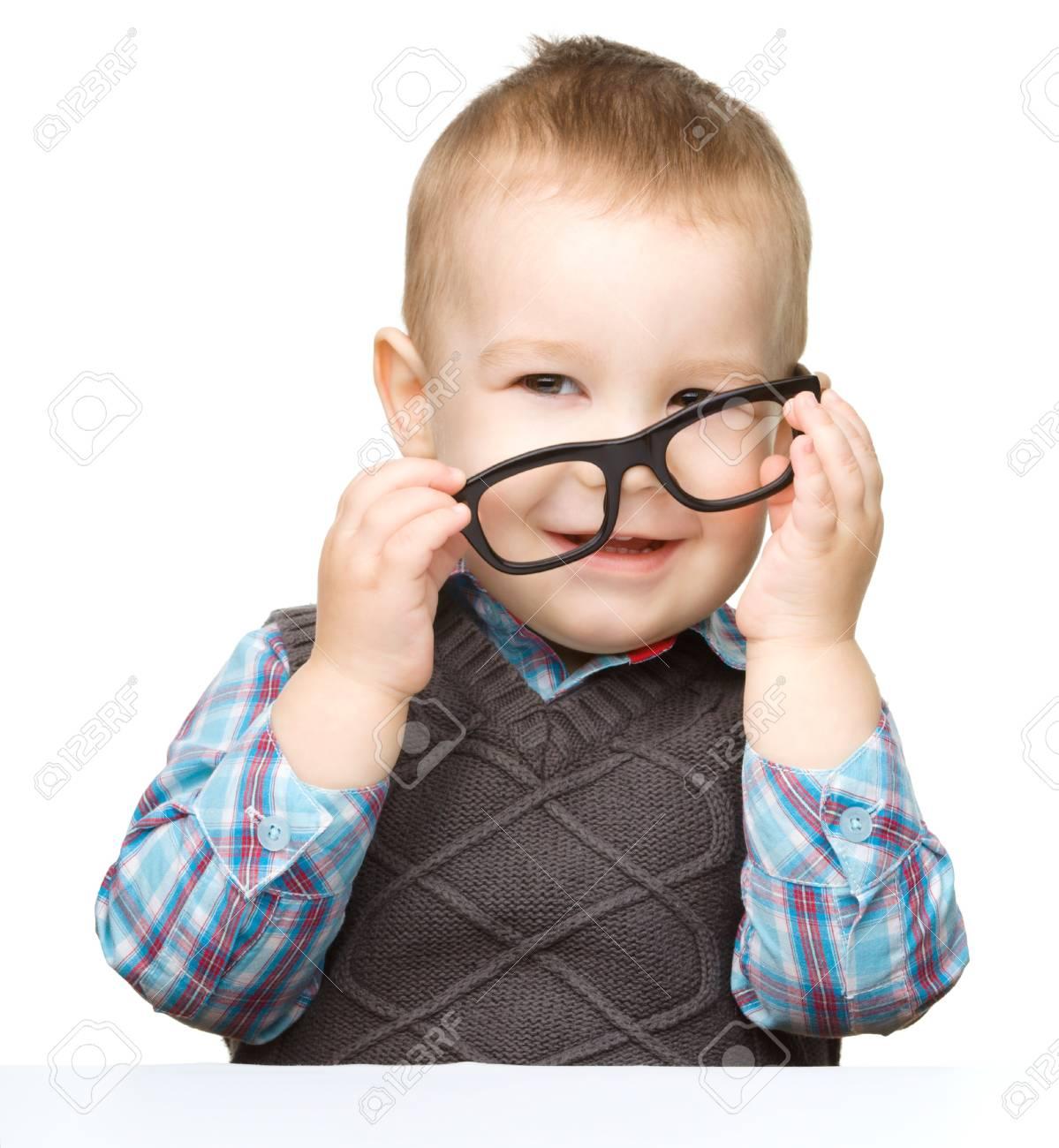 Jungen brille