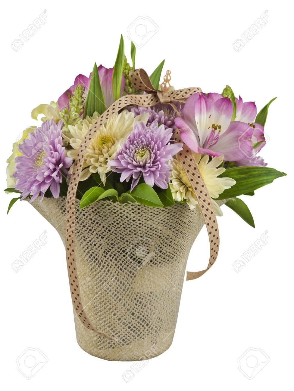 Beautiful flowers arranged in a basket stock photo picture and beautiful flowers arranged in a basket stock photo 79962453 izmirmasajfo