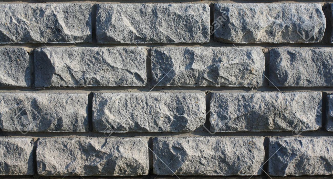 gray old brick textured wall cracked bricks stock photo picture