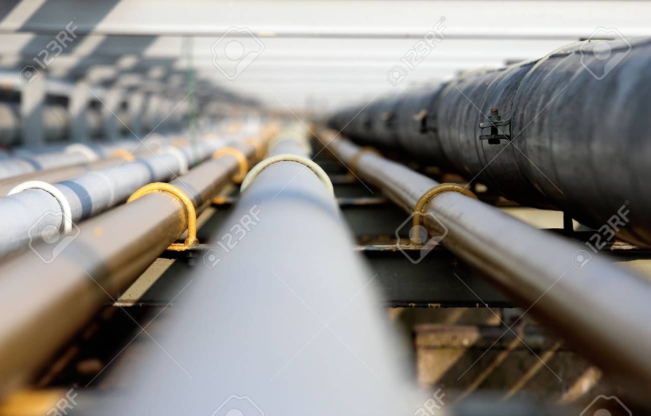 oil steel pipe in group Stock Photo - 14441709