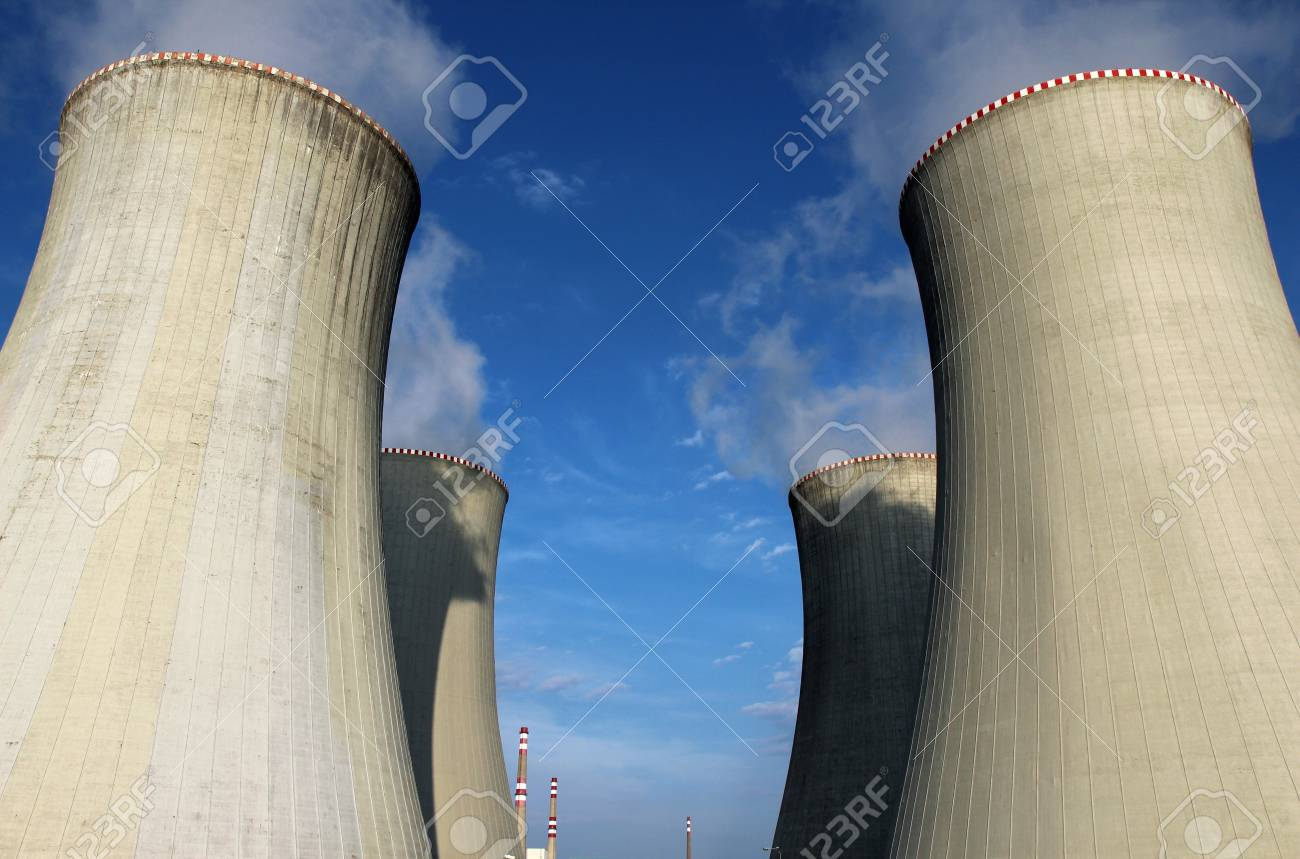 cooling tower of nuclear power plant Stock Photo - 14533028