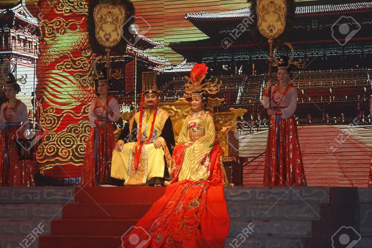 theatre of dancing in Xi'an / Xian, China Stock Photo - 14339547