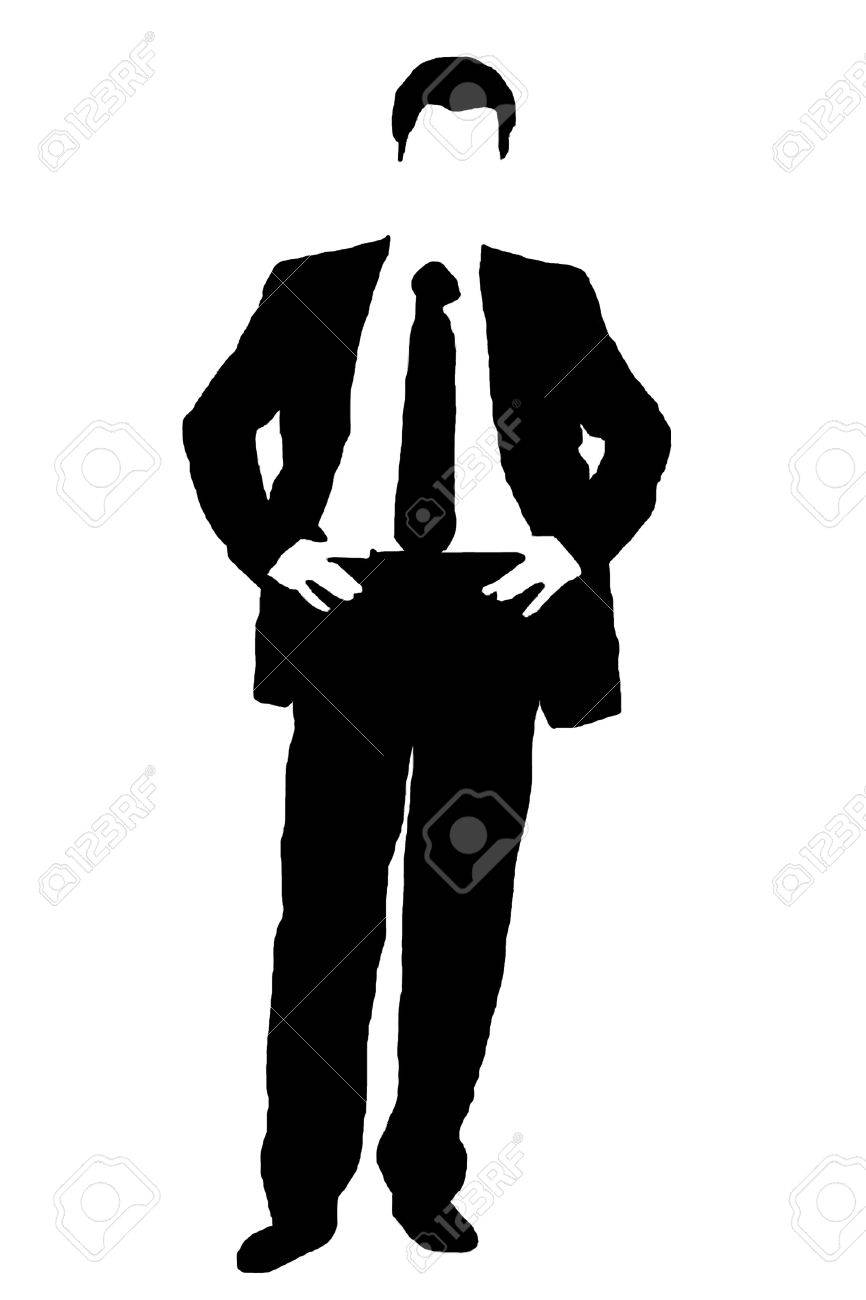 businessman silhouette from thematic text stock photo picture and