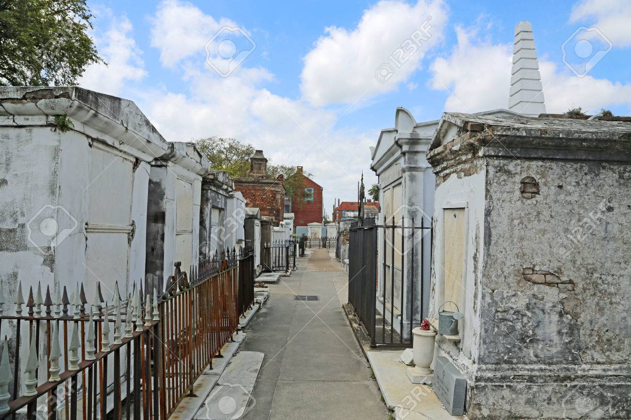 St Louis Cemetery No 1- New Orleans, Louisiana