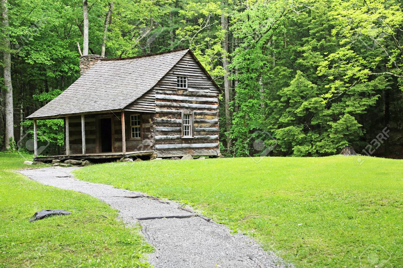 cabins carter tennessee cove photo cabin smoky great shields cades stock park in mountains national