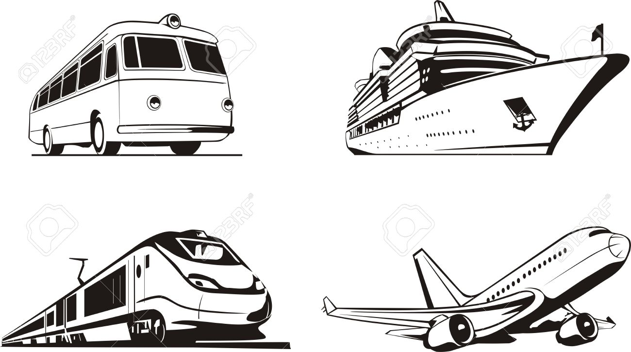3,436 Means Of Transport Stock Vector Illustration And Royalty ...
