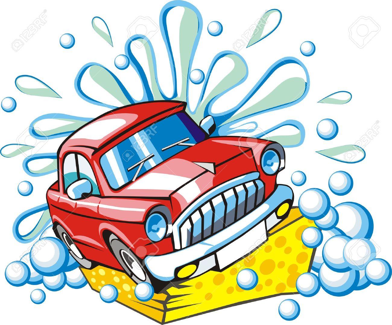 sign a car body washing royalty free cliparts vectors and stock rh 123rf com free car wash clipart pictures free car wash pictures clip art