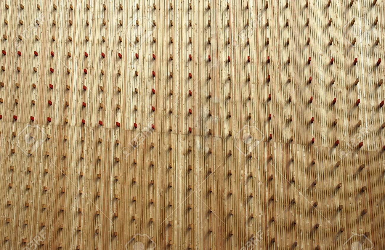 modern architectual wood texture Stock Photo - 4757407