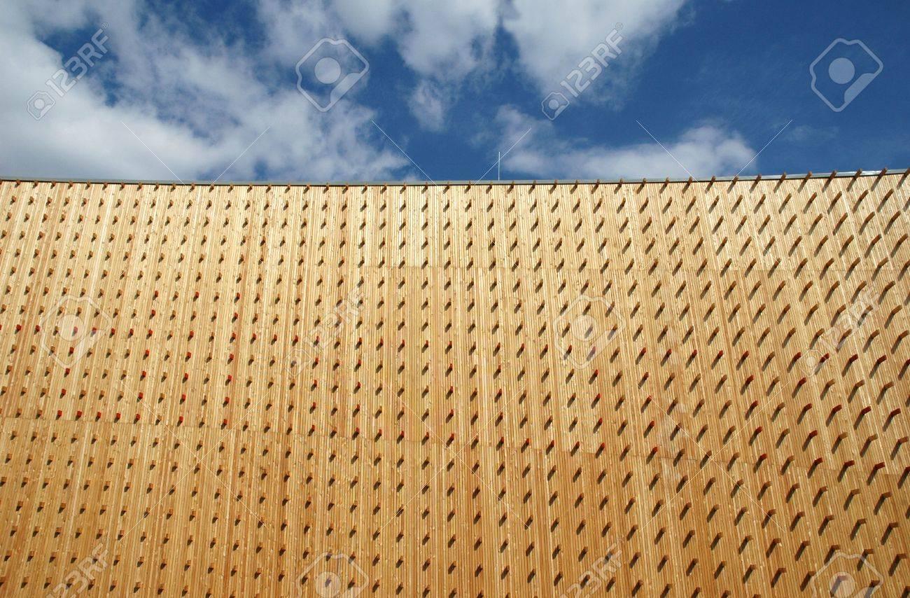 modern architectual wood texture Stock Photo - 4757406