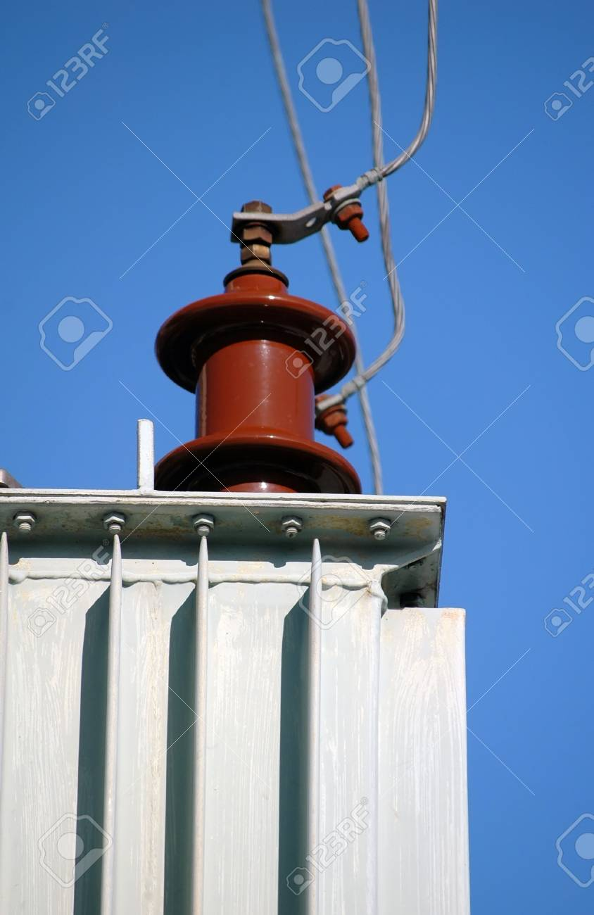 Electric power line transformer Stock Photo - 7229731