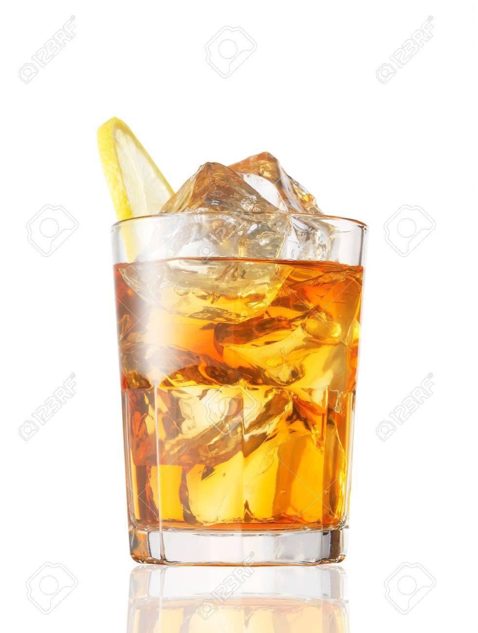 ice tea with lemon Stock Photo - 12803287