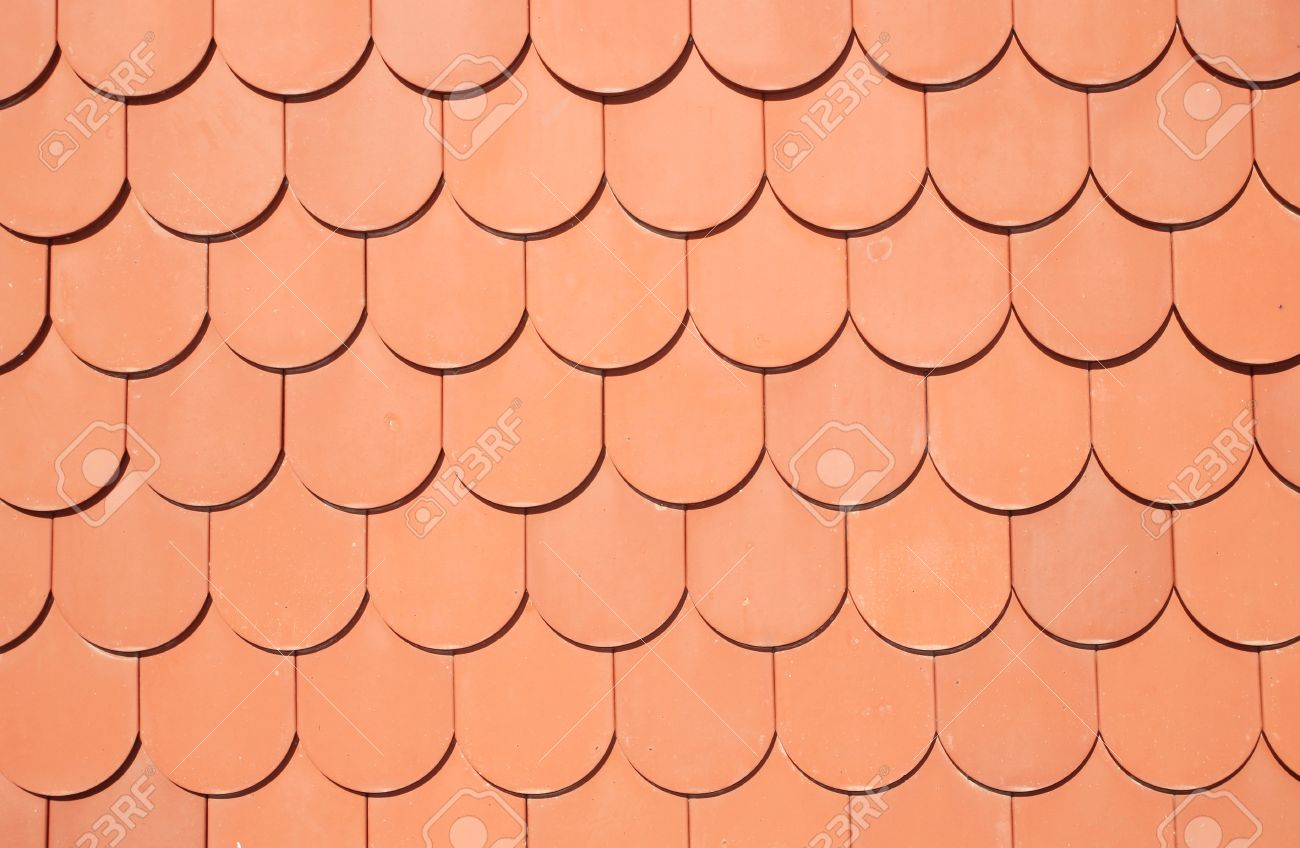 Brick Roof Texture seamless texture of brown roof stock photo, picture and royalty free