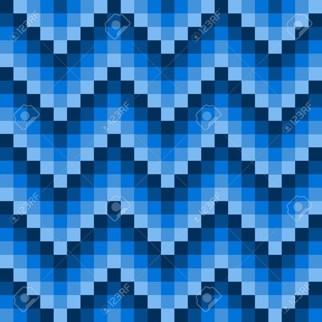 Patrón De Píxeles De Invierno Para Un Suéter Azul De Punto O De La ...