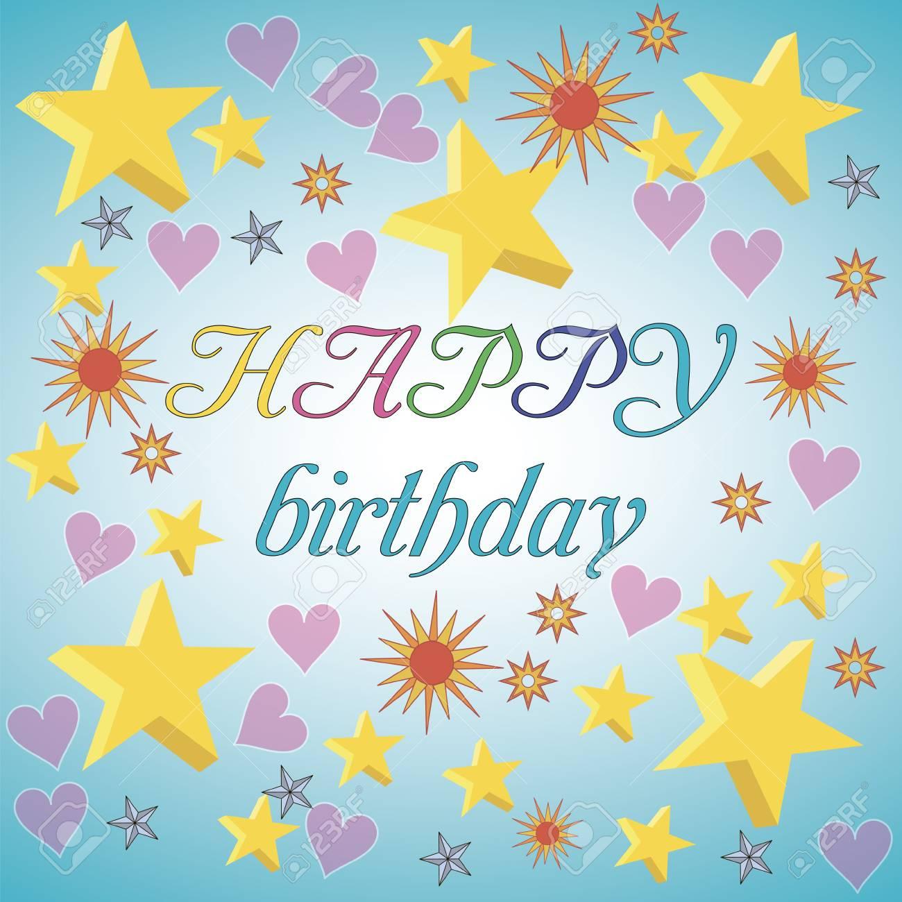 Ziemlich Alles Gute Zum Geburtstagskarte Zu Färben Fotos - Framing ...