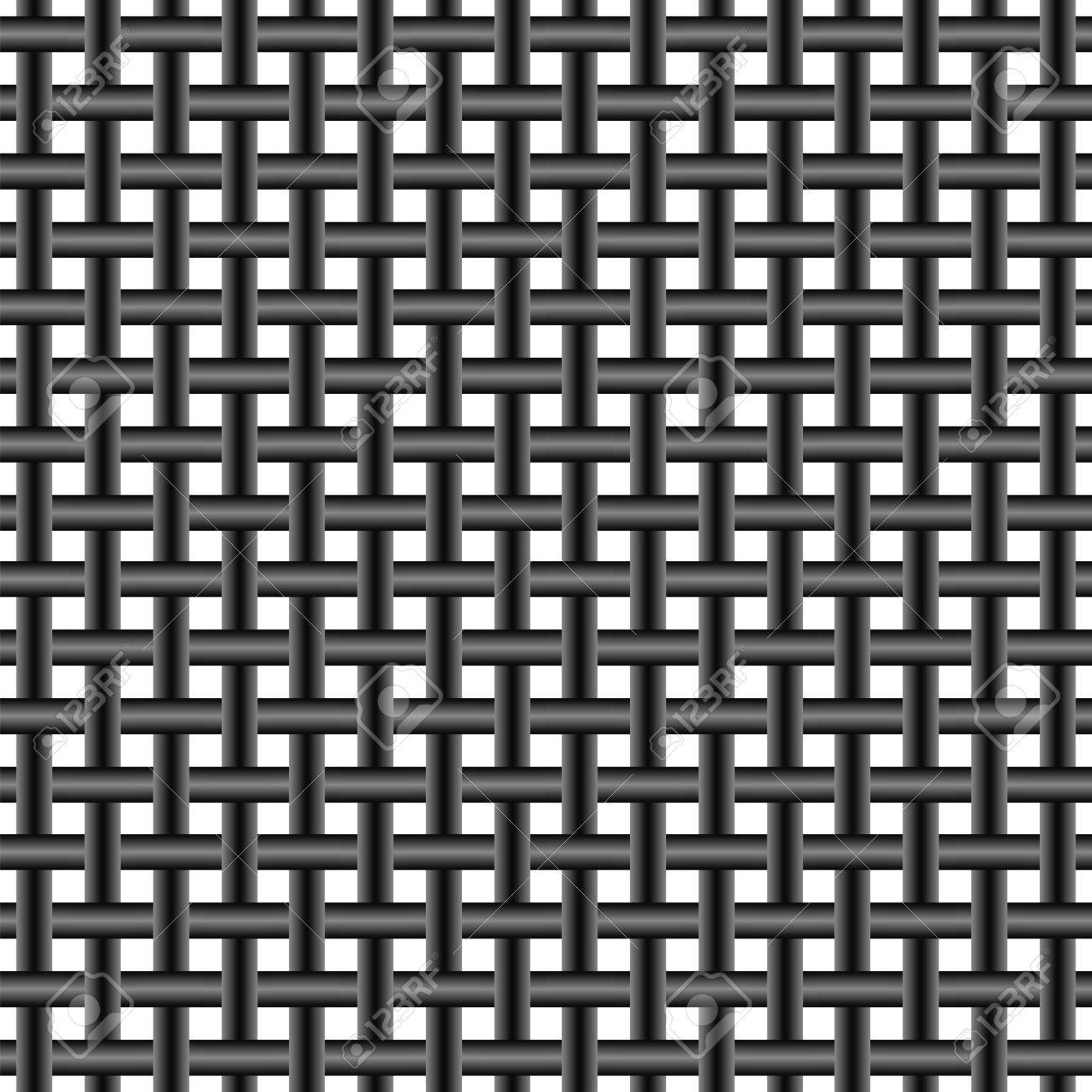 Mesh Of Steel Wire, Seamless Pattern Twisted Metal Wire Mesh ...