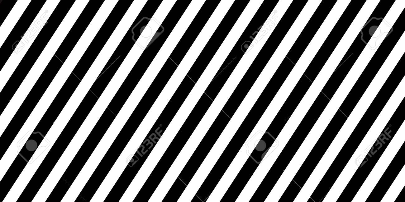 horizontal banner black diagonal lines striped wallpaper seamless