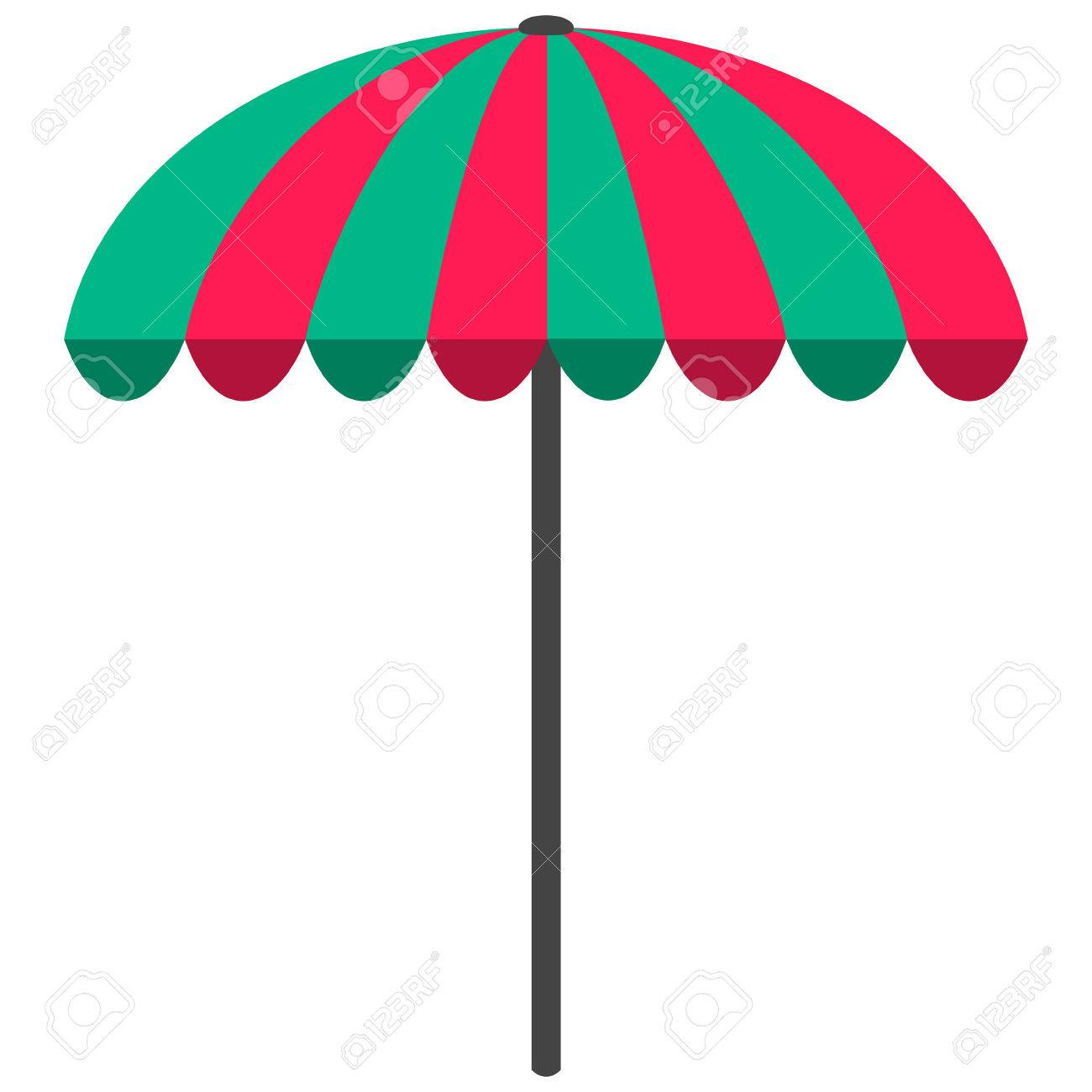 Beach Umbrella Vector Art Best Vectors Design