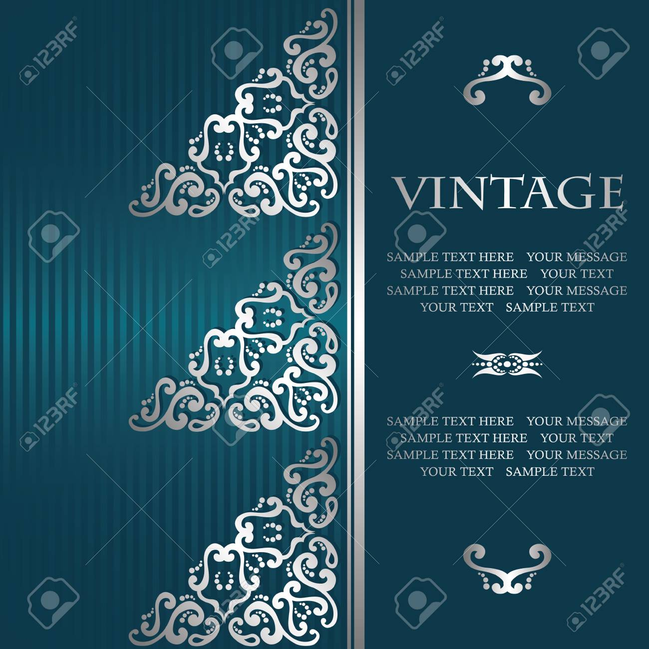 Vintage Design For Your Invitation Card Retro Background With Royalty Free Cliparts Vectors And Stock Illustration Image 85408279