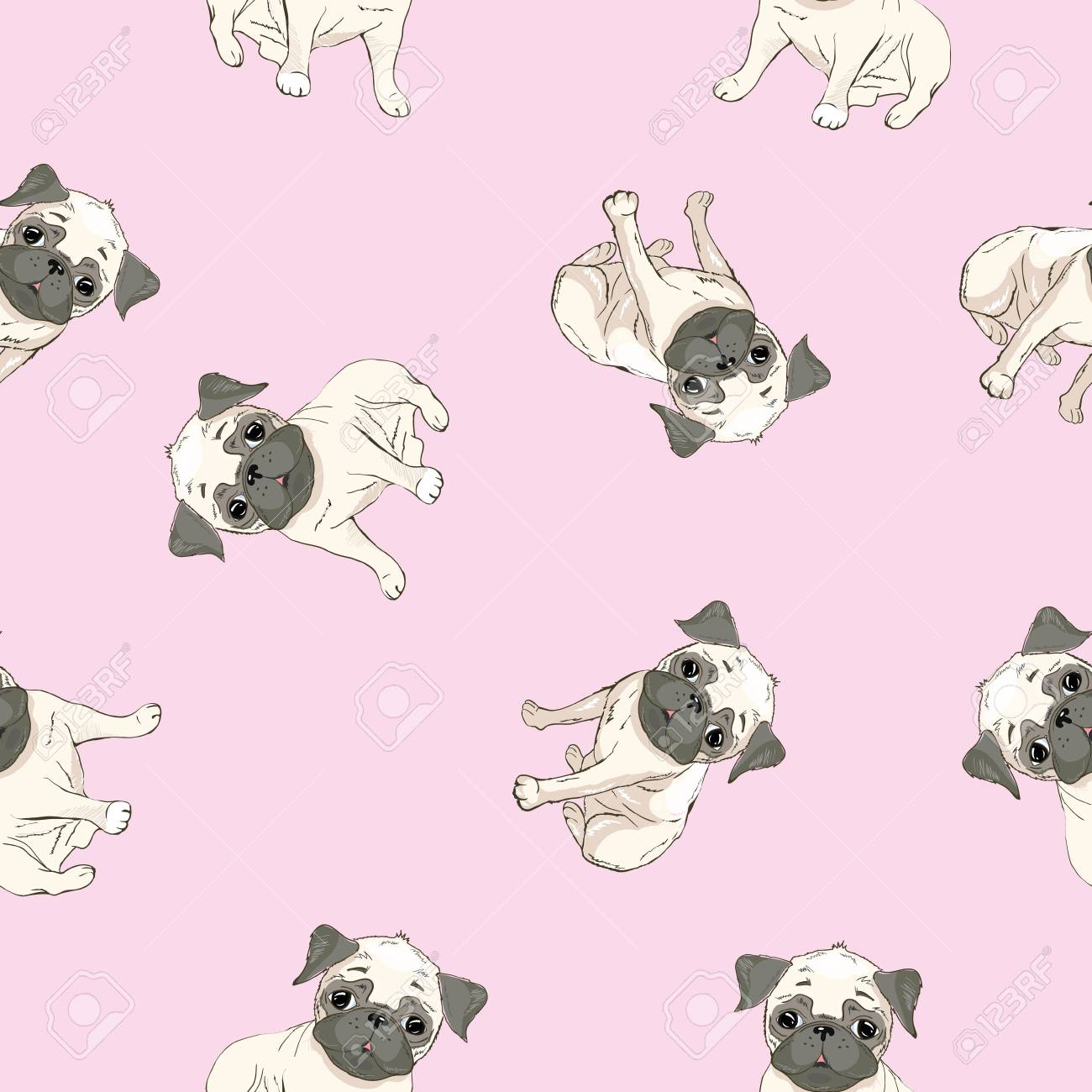 Puppy Cartoon Dog Wallpaper