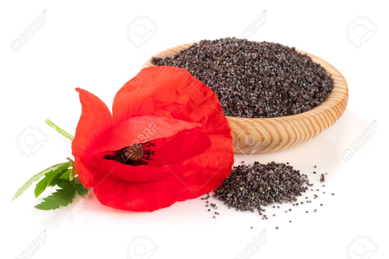 Poppy seeds in a wooden bowl with a flower stock photo picture and poppy seeds in a wooden bowl with a flower stock photo 82662280 mightylinksfo
