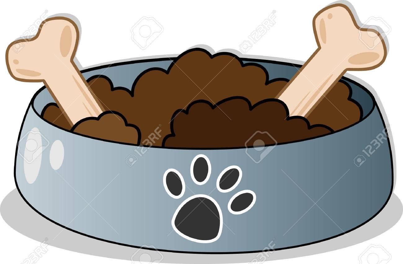 Dog food Banque d'images - 27226515