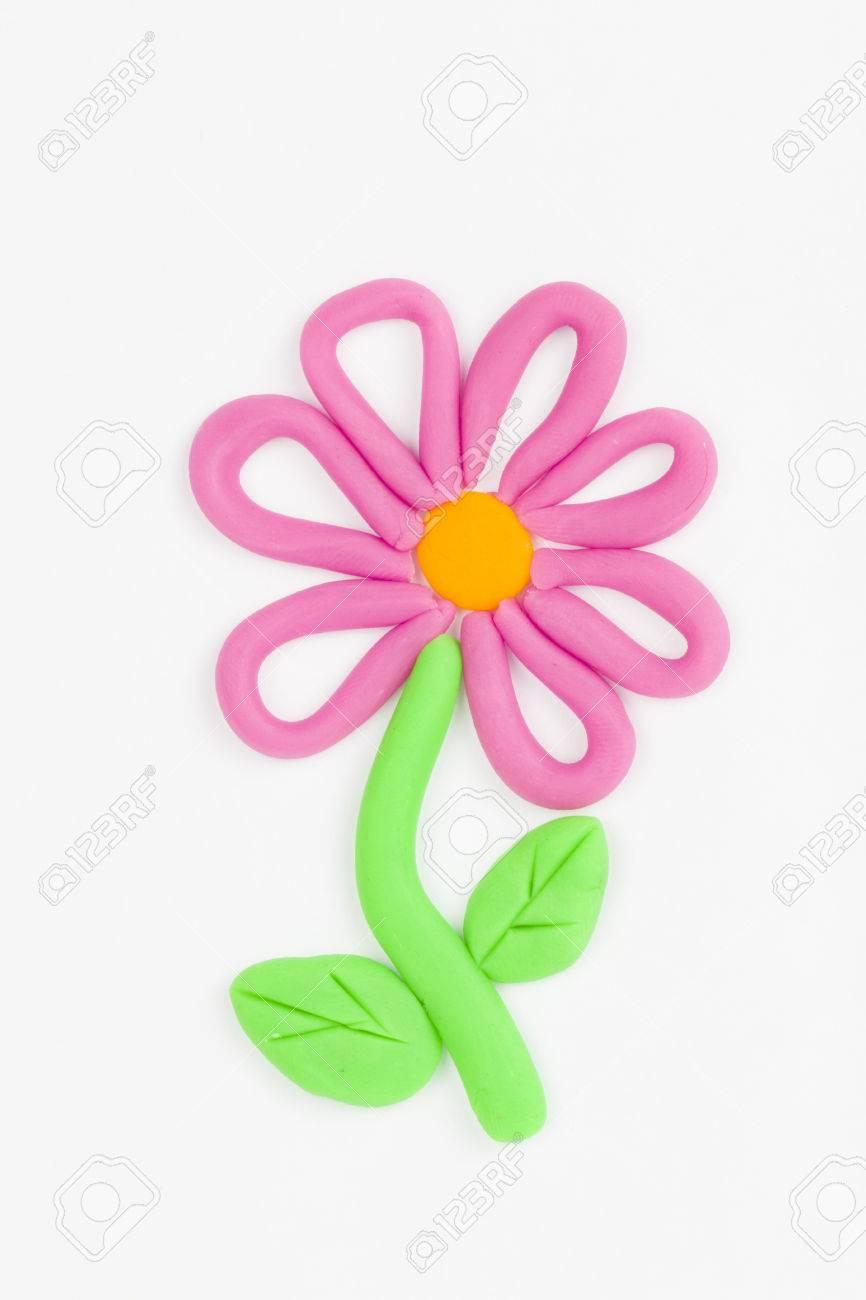 Plasticine fleurs Banque d'images - 29414283