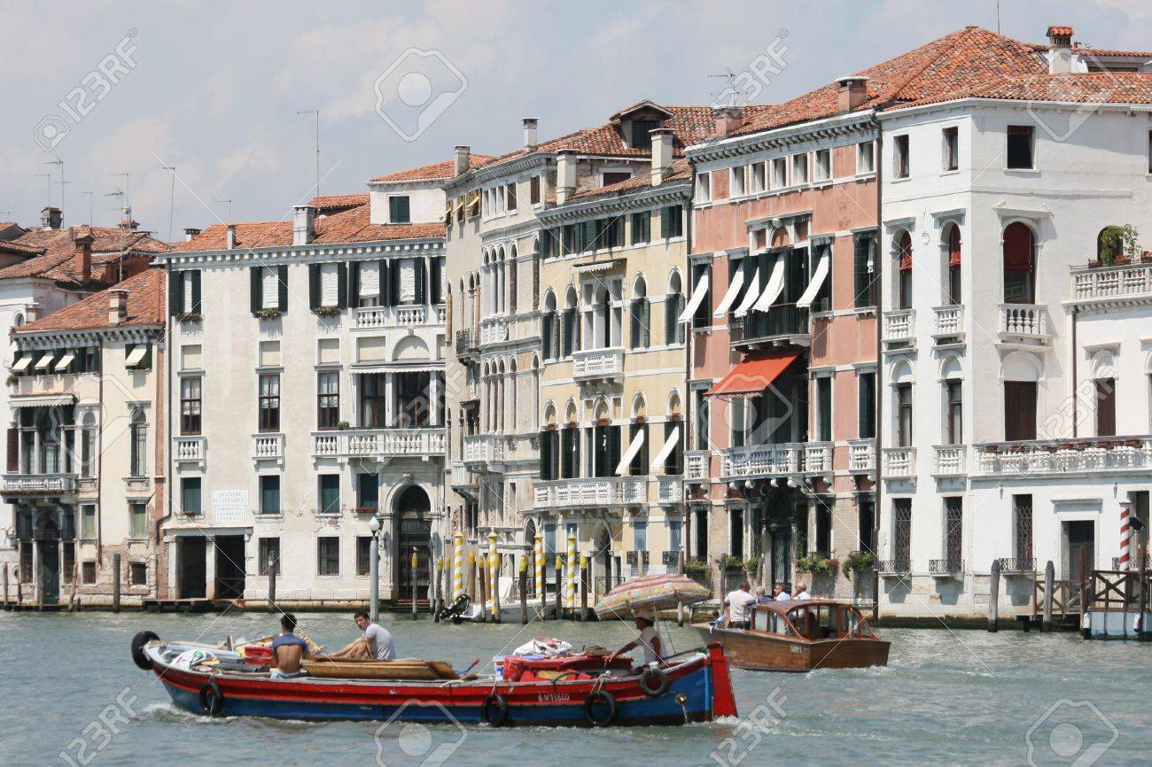 Venetian transport Stock Photo - 7562089