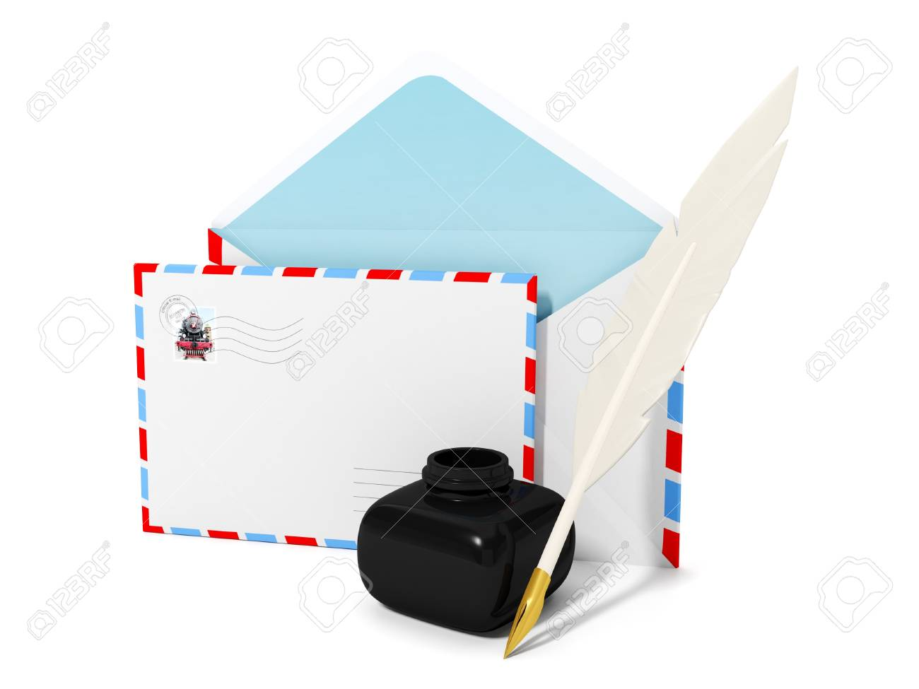 writing messages and letters